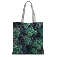 Close-Up Of Green Flowers Sublimation Tote Bag 15X16.5 Accessories