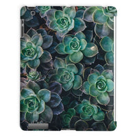 Close-Up Of Green Flowers Tablet Case Ipad 2 3 4 Phone & Cases