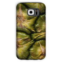 Closeup Of A Pineapple Skin Phone Case Galaxy S6 / Tough Gloss & Tablet Cases