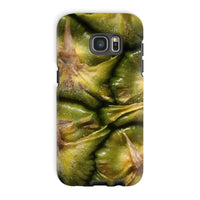Closeup Of A Pineapple Skin Phone Case Galaxy S7 Edge / Tough Gloss & Tablet Cases