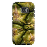 Closeup Of A Pineapple Skin Phone Case Galaxy S7 / Tough Gloss & Tablet Cases