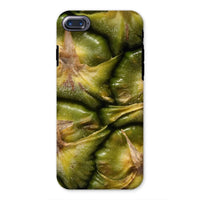 Closeup Of A Pineapple Skin Phone Case Iphone 8 / Tough Gloss & Tablet Cases