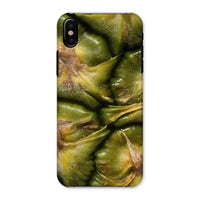 Closeup Of A Pineapple Skin Phone Case Iphone X / Snap Gloss & Tablet Cases