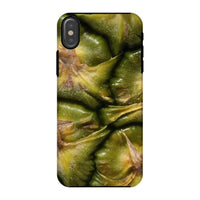 Closeup Of A Pineapple Skin Phone Case Iphone X / Tough Gloss & Tablet Cases