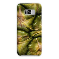Closeup Of A Pineapple Skin Phone Case Samsung S8 Plus / Snap Gloss & Tablet Cases