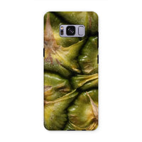 Closeup Of A Pineapple Skin Phone Case Samsung S8 Plus / Tough Gloss & Tablet Cases