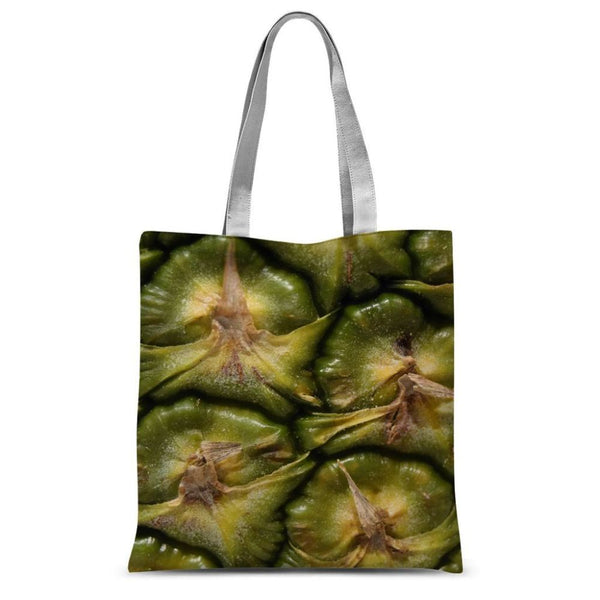 Closeup Of A Pineapple Skin Sublimation Tote Bag 15X16.5 Accessories