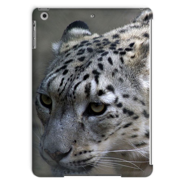 Closeup Of A Snow Leopard Tablet Case Ipad Air Phone & Cases
