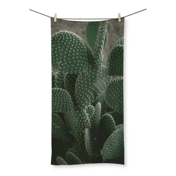 Closeup Of Cactus Beach Towel 19.7X39.4 Homeware