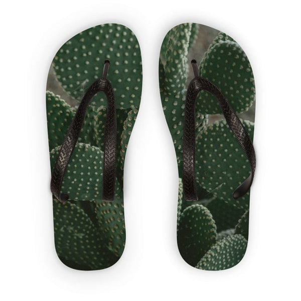 Closeup Of Cactus Flip Flops S Accessories