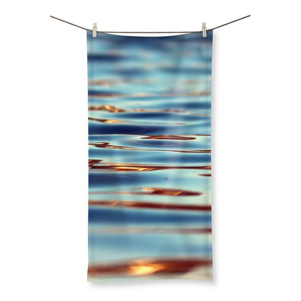 Closeup Of Waves In Water Beach Towel 19.7X39.4 Homeware