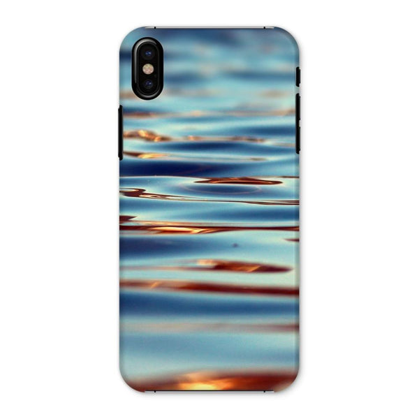 Closeup Of Waves In Water Phone Case Iphone X / Snap Gloss & Tablet Cases