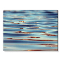 Closeup Of Waves In Water Stretched Canvas 16X12 Wall Decor