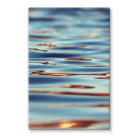 Closeup Of Waves In Water Stretched Canvas 20X30 Wall Decor