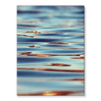 Closeup Of Waves In Water Stretched Canvas 24X32 Wall Decor