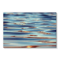 Closeup Of Waves In Water Stretched Canvas 30X20 Wall Decor