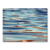 Closeup Of Waves In Water Stretched Canvas 32X24 Wall Decor