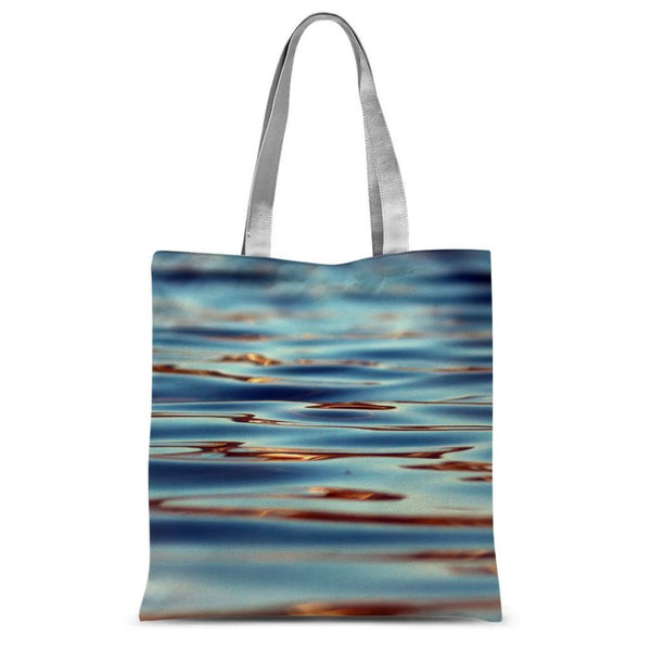 Closeup Of Waves In Water Sublimation Tote Bag 15X16.5 Accessories