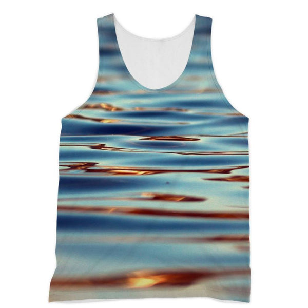 Closeup Of Waves In Water Sublimation Vest Xs Apparel