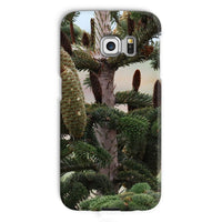 Closeup Picture A Pine Tree Phone Case Galaxy S6 Edge / Snap Gloss & Tablet Cases
