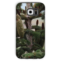 Closeup Picture A Pine Tree Phone Case Galaxy S6 / Tough Gloss & Tablet Cases