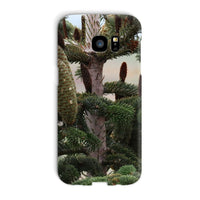 Closeup Picture A Pine Tree Phone Case Galaxy S7 Edge / Snap Gloss & Tablet Cases