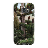 Closeup Picture A Pine Tree Phone Case Galaxy S7 Edge / Tough Gloss & Tablet Cases