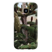 Closeup Picture A Pine Tree Phone Case Galaxy S7 / Snap Gloss & Tablet Cases