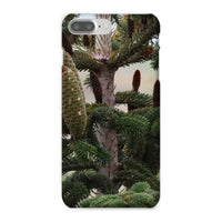 Closeup Picture A Pine Tree Phone Case Iphone 8 Plus / Snap Gloss & Tablet Cases