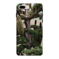 Closeup Picture A Pine Tree Phone Case Iphone 8 Plus / Tough Gloss & Tablet Cases