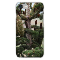 Closeup Picture A Pine Tree Phone Case Iphone 8 / Snap Gloss & Tablet Cases