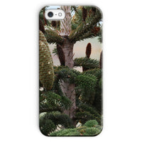 Closeup Picture A Pine Tree Phone Case Iphone Se / Snap Gloss & Tablet Cases