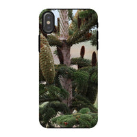 Closeup Picture A Pine Tree Phone Case Iphone X / Tough Gloss & Tablet Cases