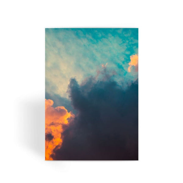 Clouds And Risining Sun Greeting Card 1 Prints