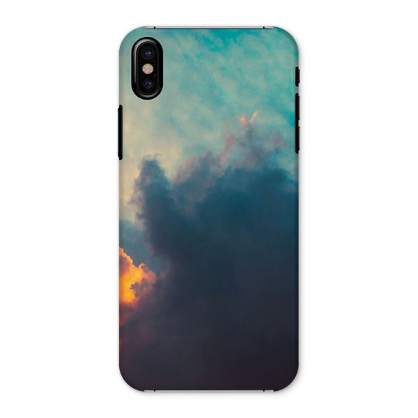 Clouds And Risining Sun Phone Case Iphone X / Snap Gloss & Tablet Cases