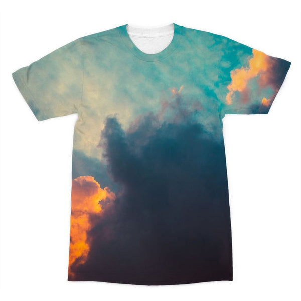 Clouds And Risining Sun Sublimation T-Shirt Xs Apparel