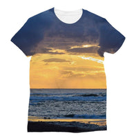 Cloudy Sunset On Sea Shore Sublimation T-Shirt S Apparel