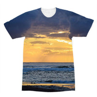 Cloudy Sunset On Sea Shore Sublimation T-Shirt Xs Apparel