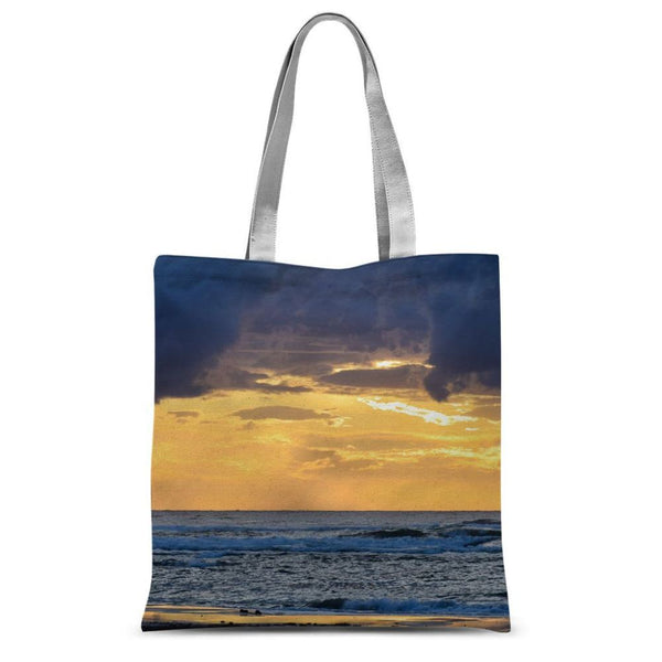 Cloudy Sunset On Sea Shore Sublimation Tote Bag 15X16.5 Accessories