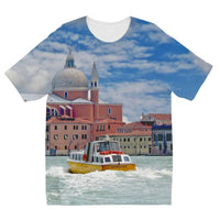 Coast Of Venize Kids Sublimation T-Shirt 3-4 Years Apparel