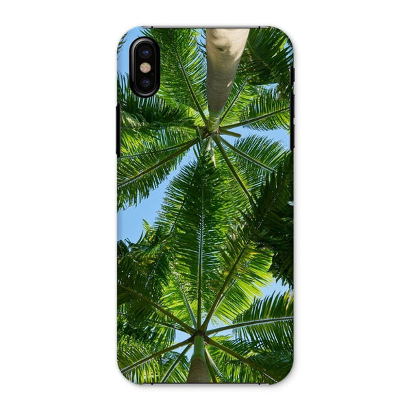 Coconut Trees Leaves Pattern Phone Case Iphone X / Snap Gloss & Tablet Cases
