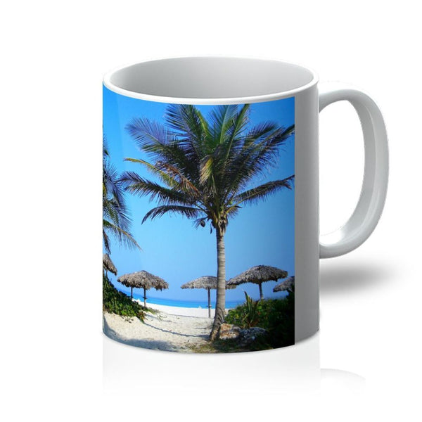 Coconut Trees Mug 11Oz Homeware