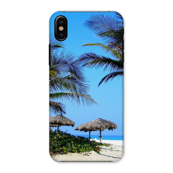 Coconut Trees Phone Case Iphone X / Snap Gloss & Tablet Cases