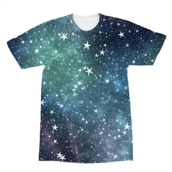 Collection Of Stars Night Sublimation T-Shirt Xs Apparel