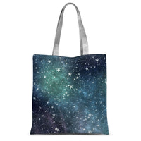 Collection Of Stars Night Sublimation Tote Bag 15X16.5 Accessories