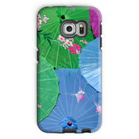 Color Full Umbrellas Phone Case Galaxy S6 Edge / Tough Gloss & Tablet Cases