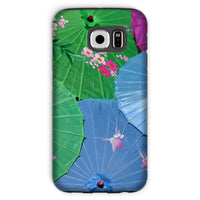 Color Full Umbrellas Phone Case Galaxy S6 / Tough Gloss & Tablet Cases