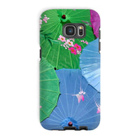 Color Full Umbrellas Phone Case Galaxy S7 Edge / Tough Gloss & Tablet Cases
