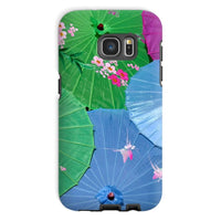 Color Full Umbrellas Phone Case Galaxy S7 / Tough Gloss & Tablet Cases