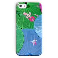 Color Full Umbrellas Phone Case Iphone 5/5S / Snap Gloss & Tablet Cases